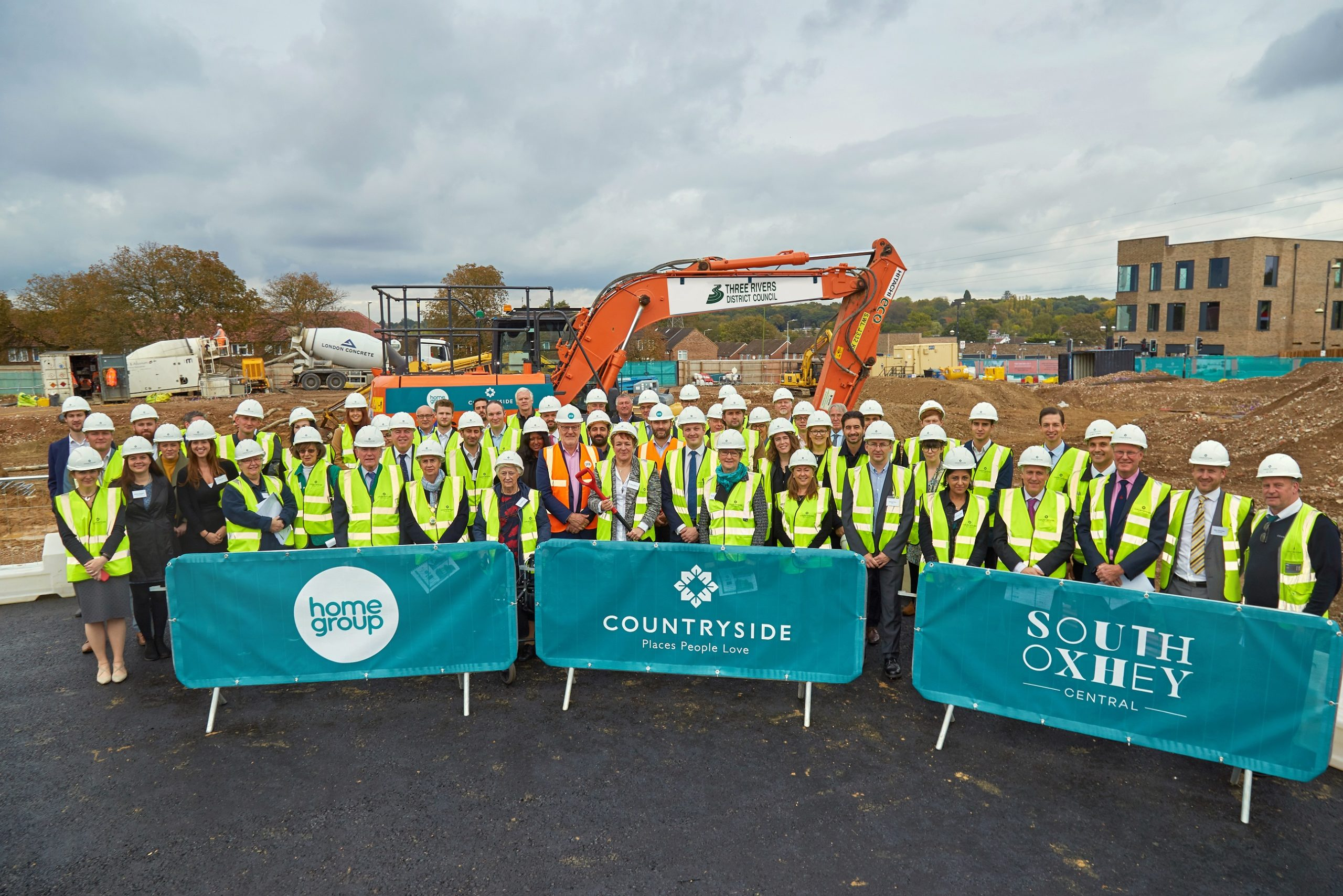 Breaking new ground: South Oxhey mixed use development