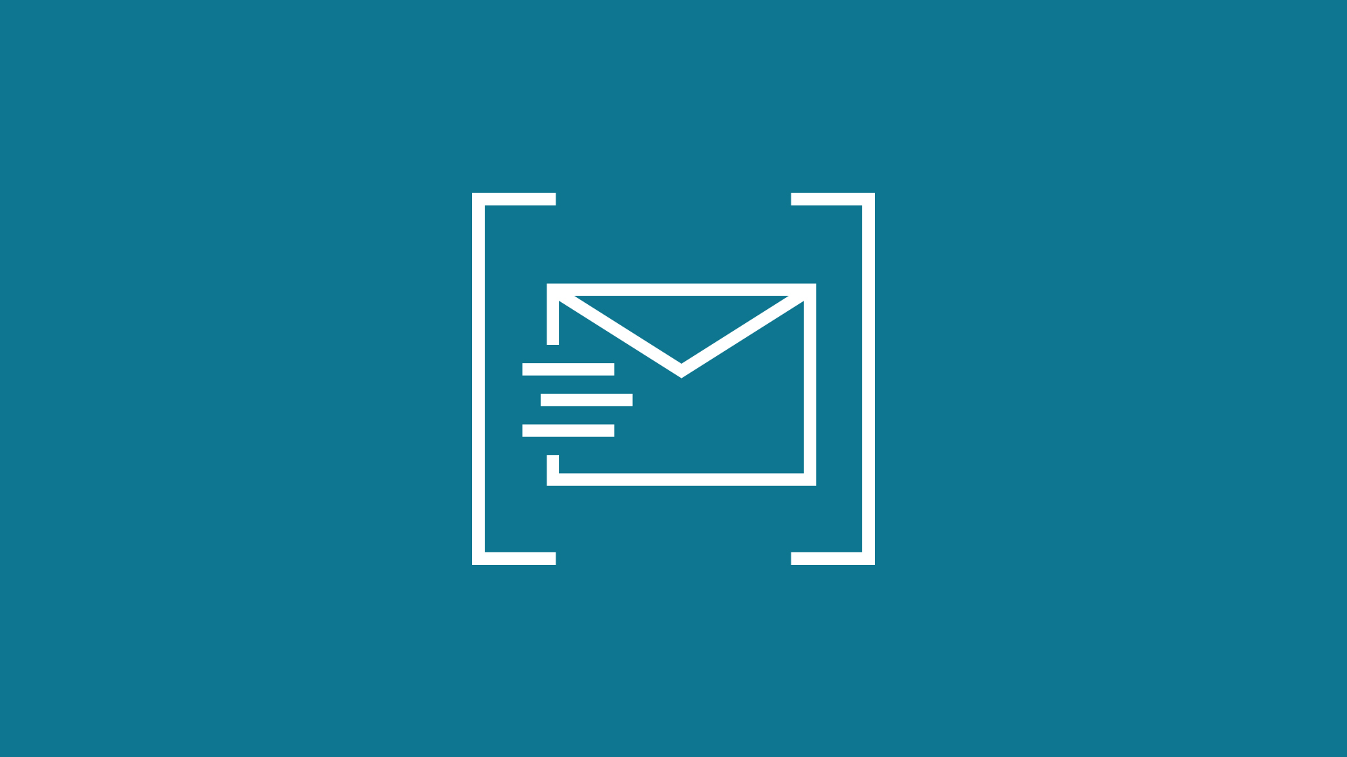 Icon of an envelope