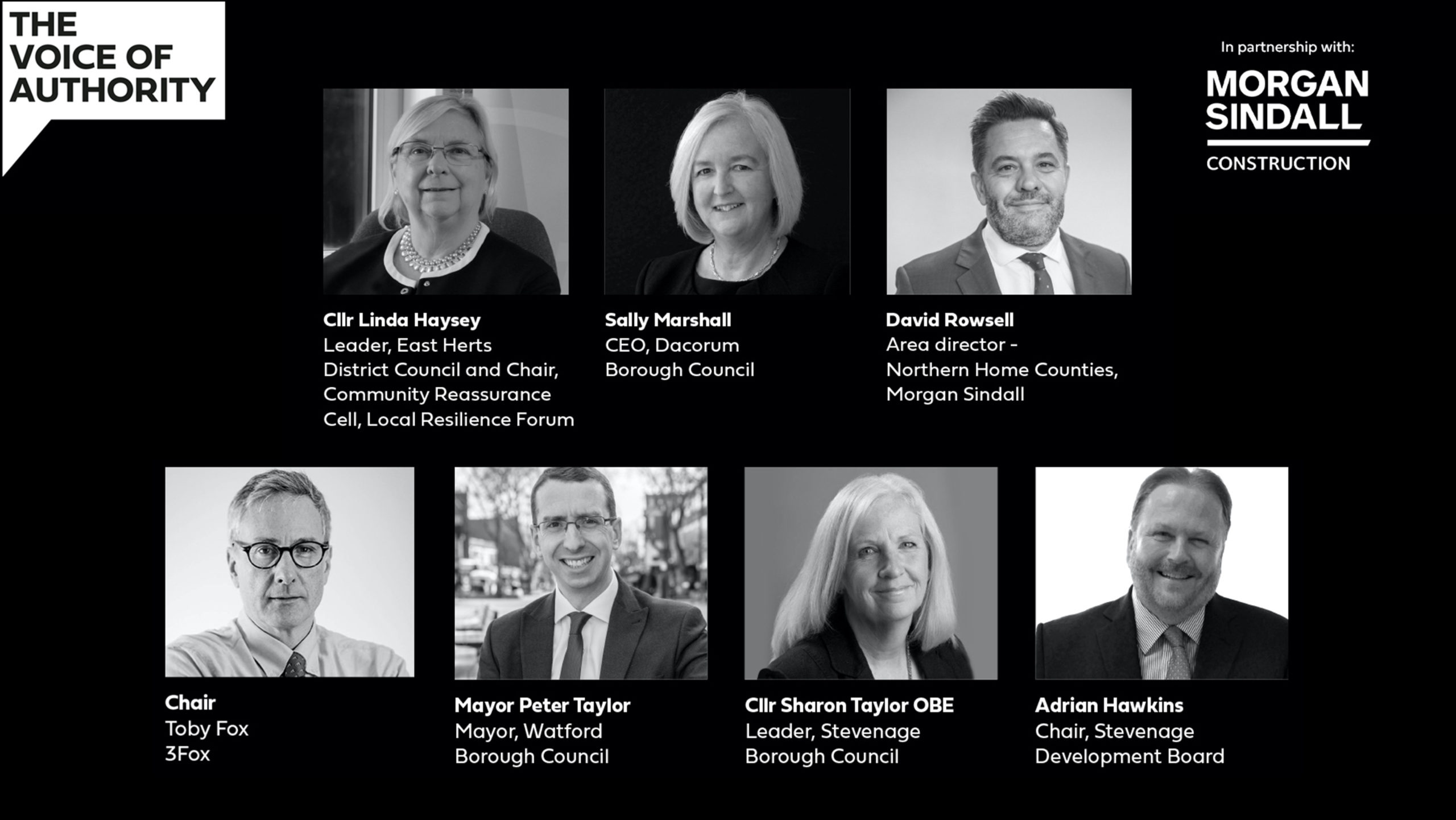 Panellists for HGB Webinar 3