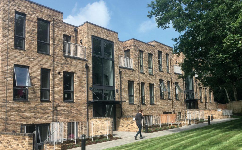 Building Futures Design Excellence award winner 2018- Garden Avenue/Furzen Crescent, Hatfield