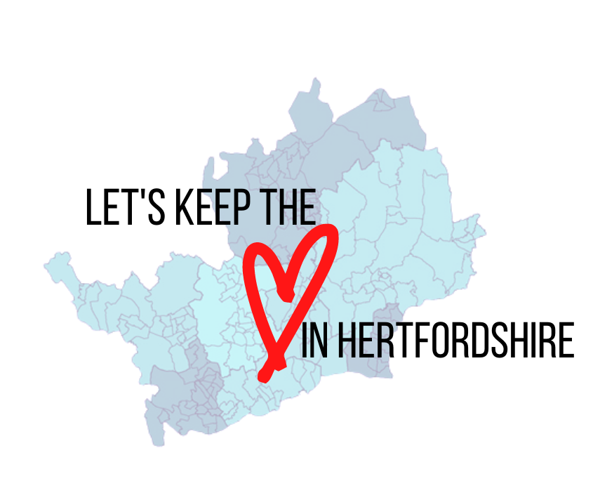 Let's Keep the Heart in Hertfordshire campaign